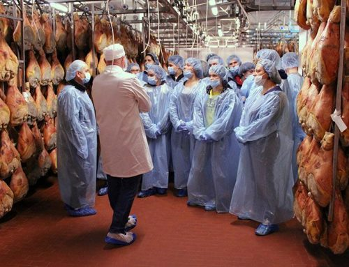 Scolaresca ITAS Bocchialini di Parma visita lo stabilimento