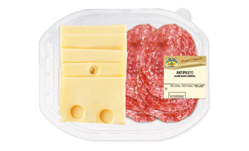 Antipasto Salame Milano e Emmental