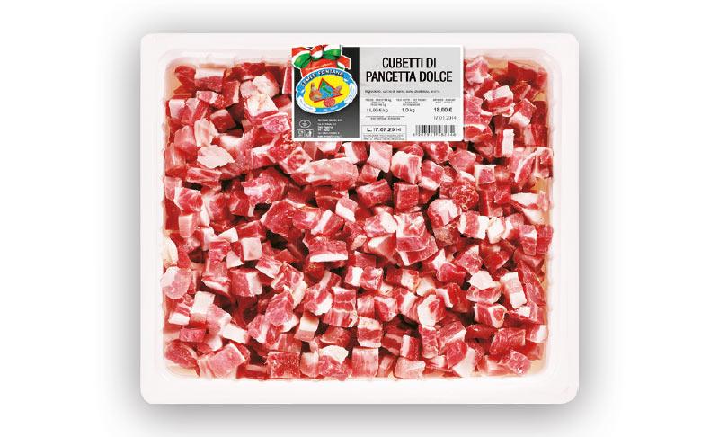 Cubetti di Pancetta dolce
