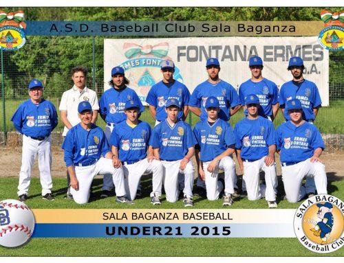 ASD Baseball Club Sala Baganza, main sponsor 2015
