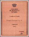 certificazioni salumificio consorzio di parma 1965