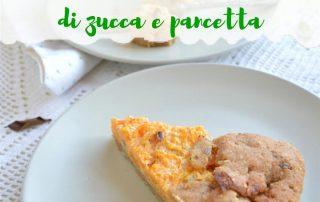 Salumificio Fontana Ermes ricetta galletta rustica di zucca e pancetta